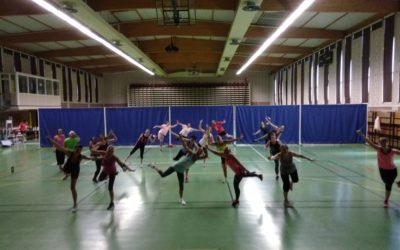 Quand la danse se mêle au sport!